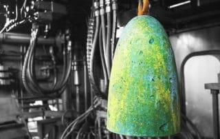 lampada in cemento a-vida